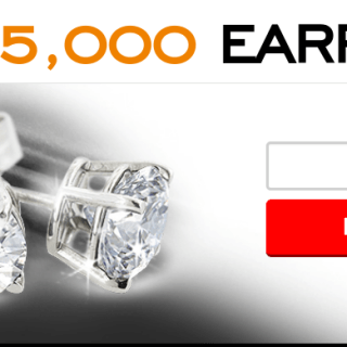 Win 1ct $5,000 Diamond Earring's from SuperJeweler